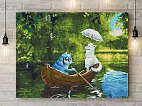 """Картина по номерам """"Свидание на озере"""" 40х50 см"""