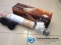 Маты нагревательные LDTS 121400-165 теплый пол для дома и дачи. 8.8 м.кв .Регулятор в подарок .