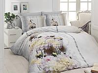 """Двуспальный комплект постельное белье сатин евро размер """"First Choice"""" 3D"""