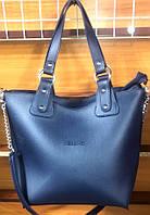 Женская синяя сумка 2 в 1 Celine класса Люкс 31*33 см (с клатчем), фото 1