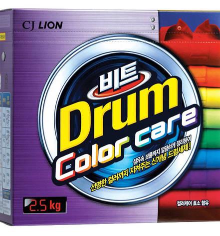 Стиральный порошок для цветного белья Lion Beat Drum Color Care 2.5 кг, фото 2