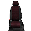 Чехлы на сиденья Шкода Суперб (Skoda Superb) (модельные, экокожа+автоткань, отдельный подголовник), фото 7