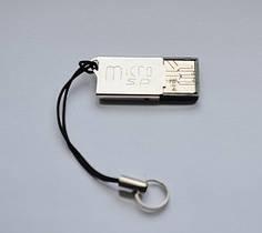 Картридер, адаптер USB, переходник Micro SD USB cr 102