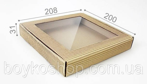 Коробка Пряничная 31*208*200 мм