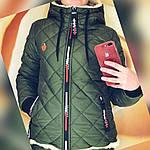 "Зимний женский теплый дутый костюм на овчине""Tommy"", фото 7"
