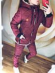 "Зимний женский теплый дутый костюм на овчине""Tommy"", фото 8"
