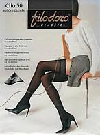 Чулки самодержащиеся Filodoro Clio 50 den.