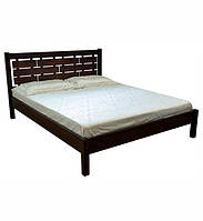 Ліжко півтораспальне в спальню, дитячу з натурального дерева 140х190 Л-219 Скіф, фото 1