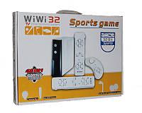 WIWI 32 спортивная игровая приставка с датчиком движения (48 встроенных игр 32 бит)