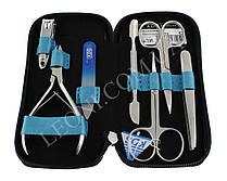 Маникюрный набор KDS 04-7105 голубого цвета