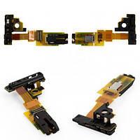 Коннектор наушников Sony (сони) C5502 M36h Xperia ZR/ C5503 с датчиком приближения,  на шлейфе, фото 2