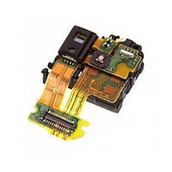 Коннектор наушников Sony (сони) C6602 L36h Xperia Z/ C6603/ C6606,  с датчиком приближения,  на шлейфе, фото 2
