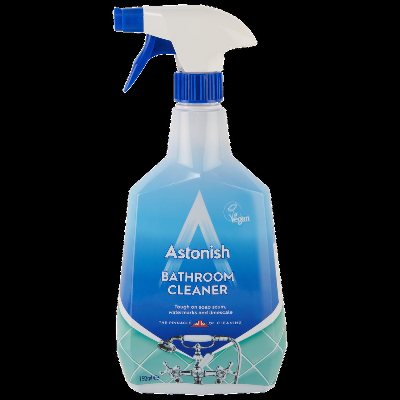 Универсальный очиститель для ванной комнаты Astonish 750 мл