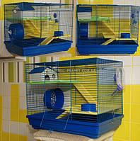 Клетка для мелких грызунов (бурундуки, дегу, песчанки, крысы, хомяки, тушканчики) №1