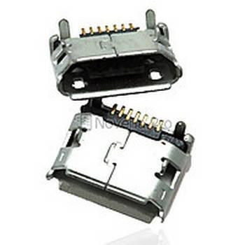 Коннектор Samsung (самсунг) i9100/ B3310/ B7610/ C3300/ C5510 / I5500/ I9070/ I9100/ I9103/ M3710/ M7500/ M7600/ S3550, фото 2