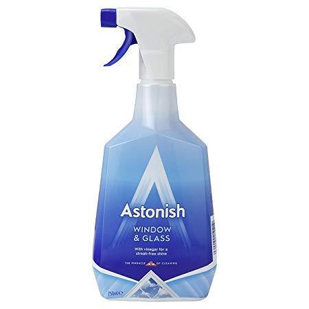 Средство для мытья окон и стекол с эффектом анти-запотевания Astonish
