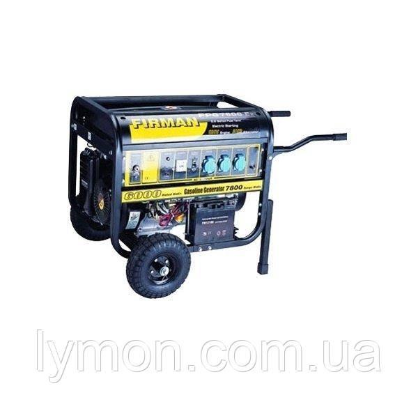 Бензогенератор FIRMAN FPG7800E2 ( 5 кВт),бак 25л, 4х тактный   55