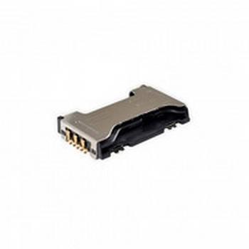Коннектор Sim Samsung (самсунг) S7562/ S7560/ S7580/ S7582/ C6712, фото 2