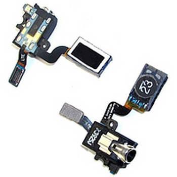 Коннектор наушников Samsung (самсунг) N900 Note 3/ N9000/ N9006,  со шлейфом,  с динамиком,  с вибро, фото 2