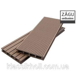 Террасная доска ZAGU HOME медно-коричневый, фото 2