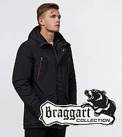 Braggart - Arctic 48560 | Зимняя куртка черная, фото 1