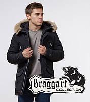 Braggart - Arctic 38230   Парка зимняя черный-серый, фото 1