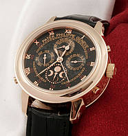 Часы Patek Philippe Sky Moon Tourbillon Gold (кварцевые)