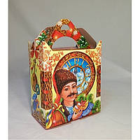 "Коробка ""Украинские часы"" на 600 грамм"