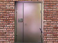 Установка подъездных домофонов с дверью