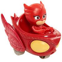 Пи Джей Герои в масках Аллет с мини машинойPJ Masks Wheelie Vehicle Owlette