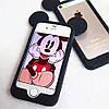 Бампер Ушки Микки для iPhone 5/5s, чёрный, фото 2