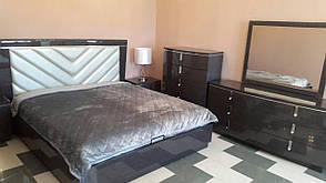 Спальня Аликанте (Графит) (1,80 м.) с подъемным мех. (раскомплектовуется) Кровать 1.8 Подъем. мех., фото 2