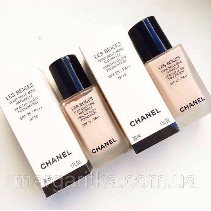 Тональный флюид Chanel Les Beiges Healthy Glow Foundation SPF 25 PA++  (Копия)