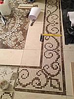 Мозаика декор керамогранит