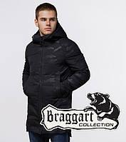 Braggart 'Black Diamond' 22545 | Зимняя парка мужская черная, фото 1