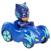 Пи Джей Герои в масках Кетбой с мини машинойPJ Masks Wheelie Vehicle Cat Boy