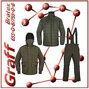 Демисезонный, зимний костюм 3 в 1 Graff 655/755
