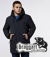 Braggart 'Black Diamond' 9028   Зимняя куртка классическая графит, фото 1