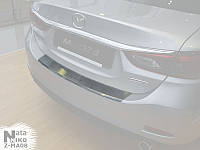 Накладка на бампер с загибом Fiat Tipo универсал с 2016 г. (NataNiko)