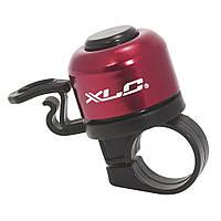 Звонок велосипедный DD-M06, XLC, красный