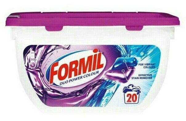 Капсулы для стирки Formil Color 20 шт.
