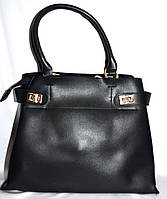 Женская черная сумка класса Люкс 35*26 см , фото 1