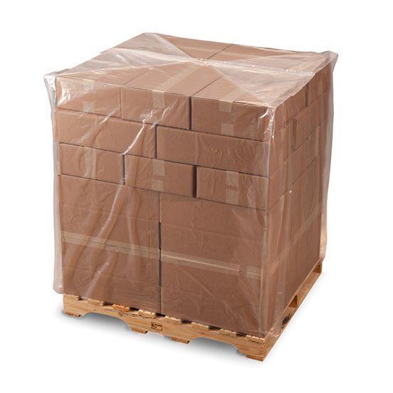 Термозбіжні пакети для євро палет 1200*800, мішки товщиною 250 мкм