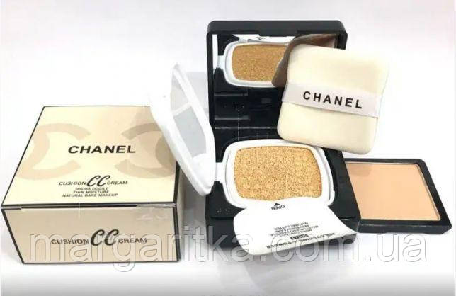 Крем-пудра Chanel Cushion CC Cream  (Копия)шанель сс
