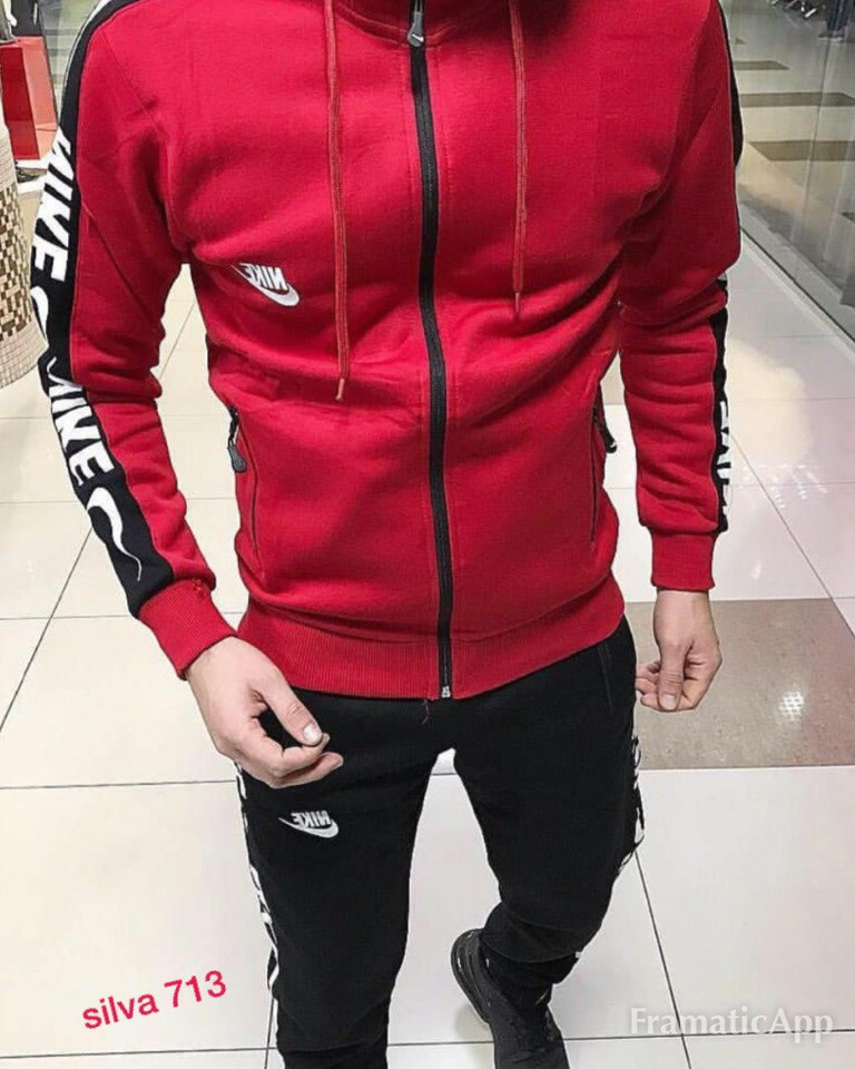 Мужской теплый спортивный костюм Nike новинка 2018 - Интернет- магазин
