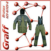 Фірмовий костюм для риболовлі GRAFF (Графф) 629 - B / 729 - B
