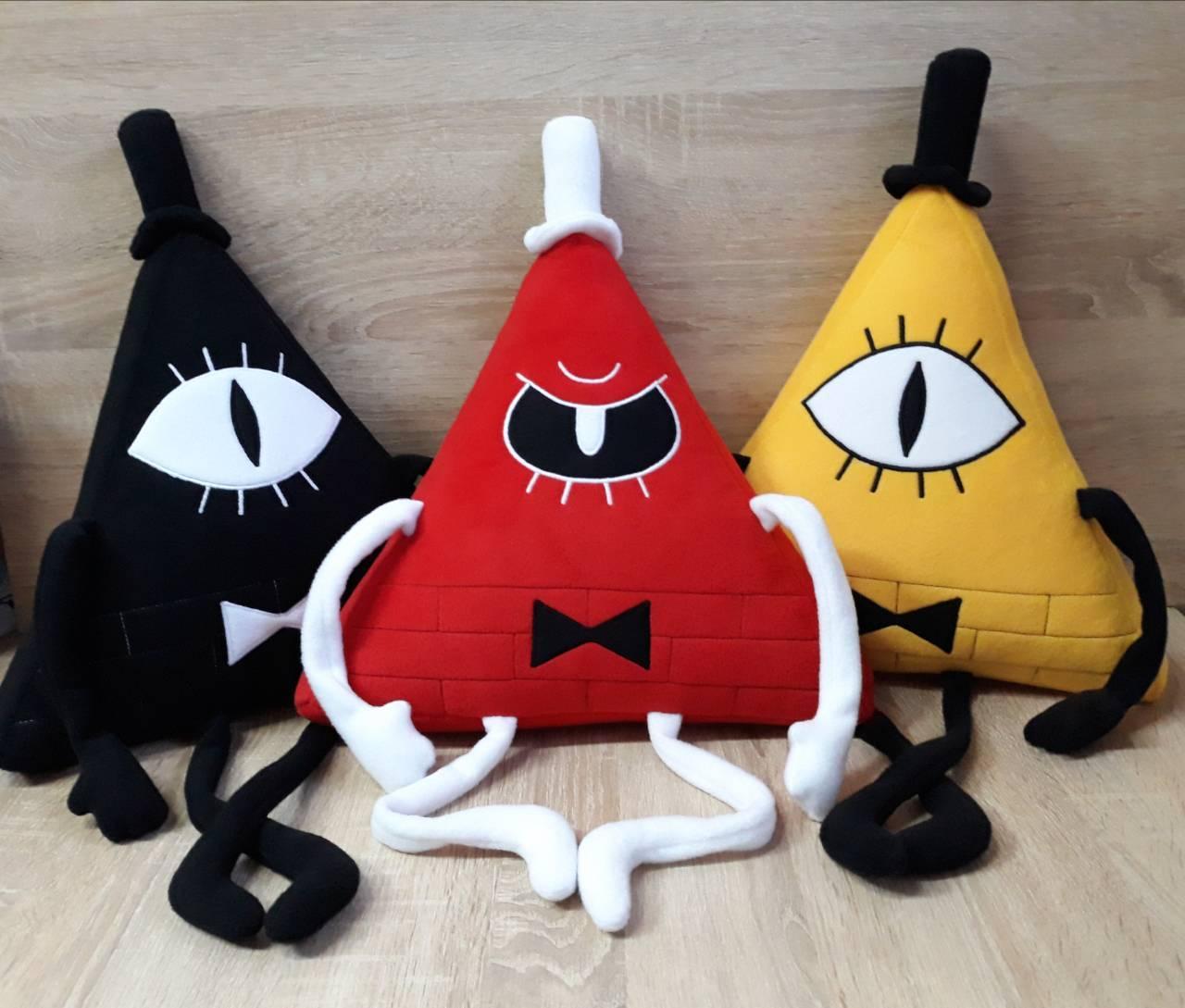 Мягкая игрушка - подушка Билл Шифр из Гравити Фолз, ручная работа