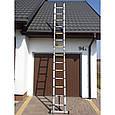 Телескопическая лестница 440 см, фото 3