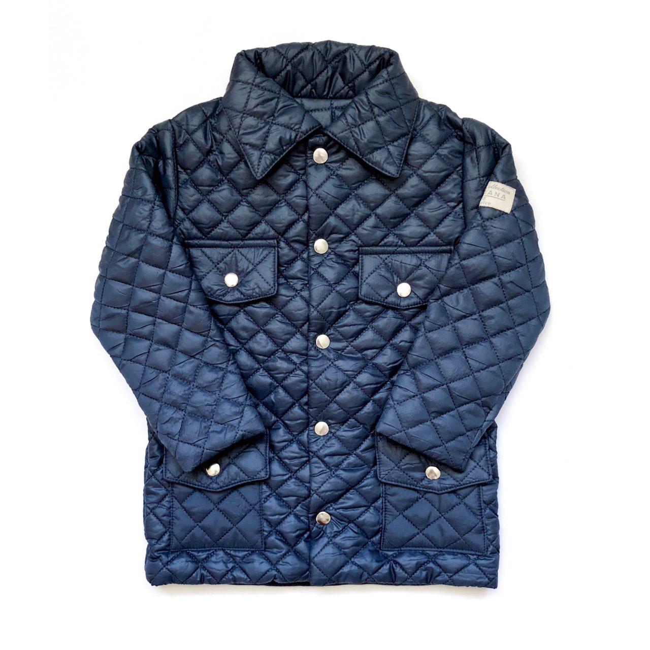 Куртка тёмно-синяя Andriana Kids для мальчика от 1 до 4 лет