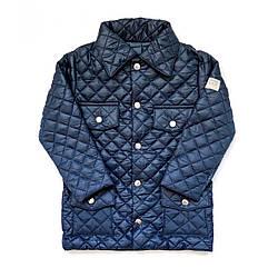 Куртка темно-синя Andriana Kids для хлопчика від 1 до 4 років